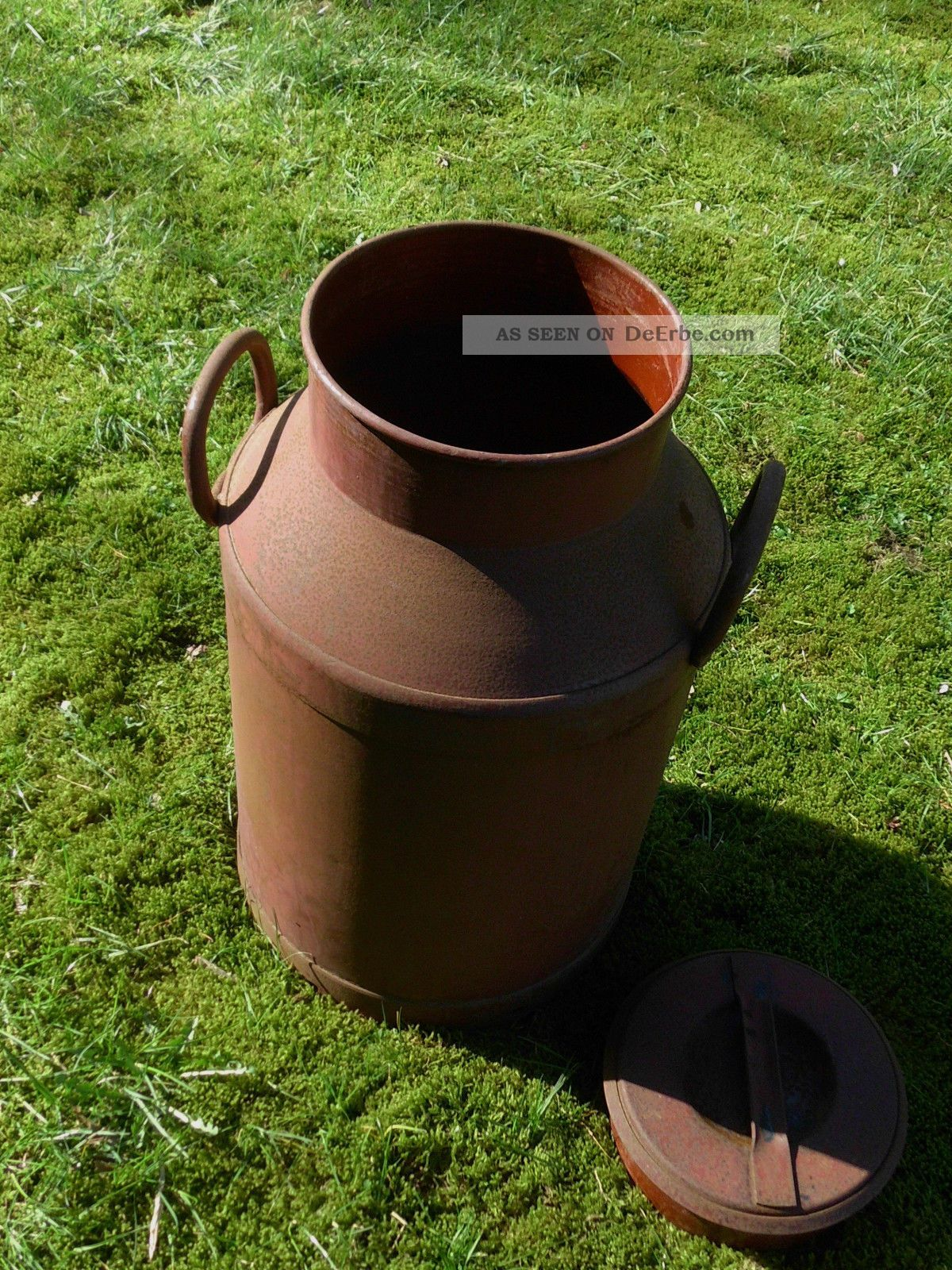 Alte Milchkanne Schirmständer Honigbehälter 40 Liter Bauer Bild