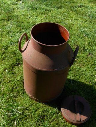 Alte Milchkanne Schirmständer Honigbehälter 40 Liter Bild