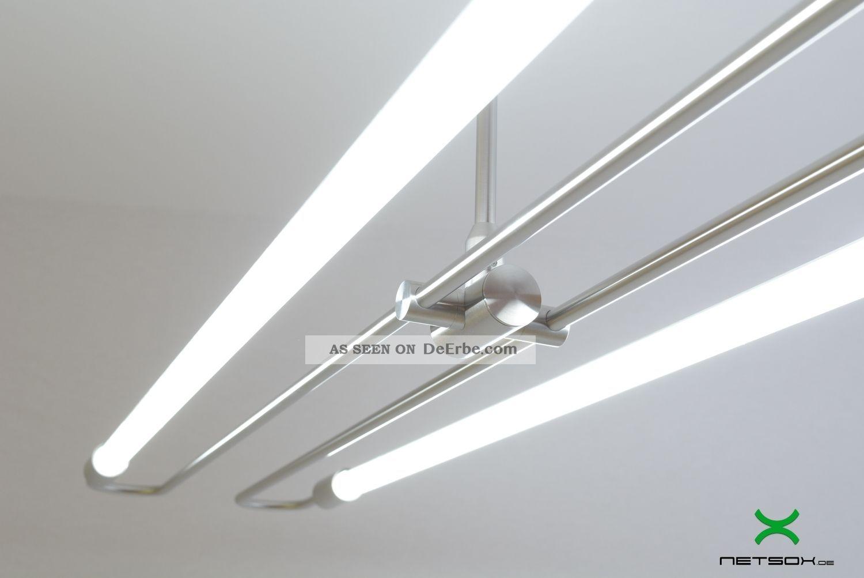 Design Led Lampe Soffitte Industrial Buro Bauhaus Industrie Fabrik Neon