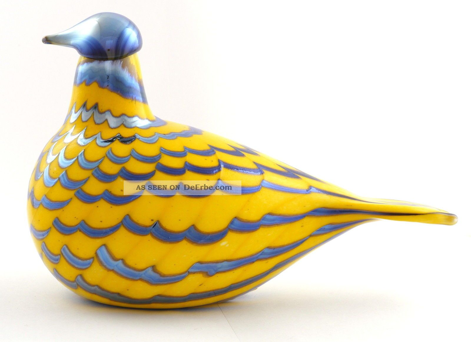 Birds By Toikka Glasvogel Yellow Grouse 215 X 130 Mm Iittala Sammlerglas Bild