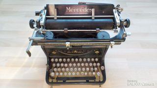 Antike Schreibmaschine Mercedes Zella - Mehlis Thüringen 1930er Jahre Sammlerstück Bild