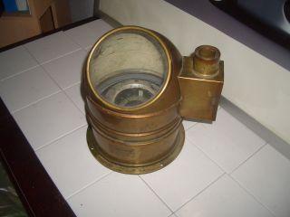 Kardanischer Bootskompass Schiffskompass Petroleum Beleuchtung Kompass Veb Bild