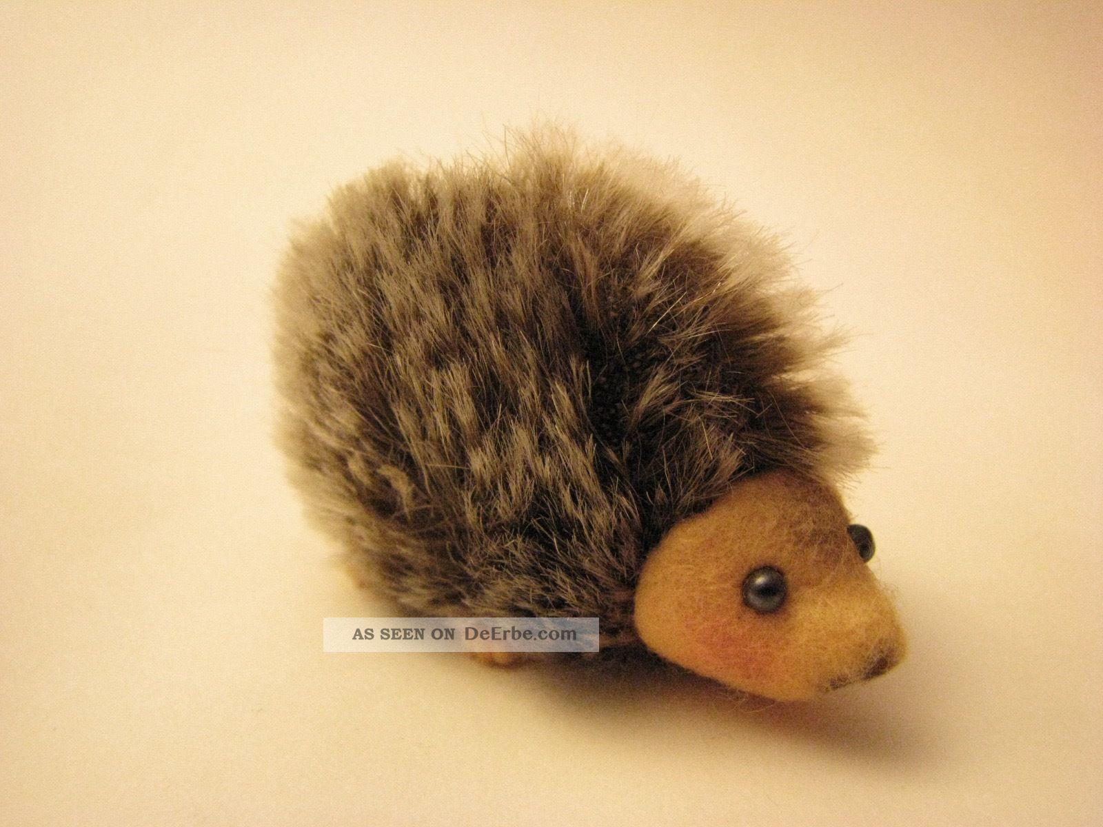 Schuco Igel / Hedgehog,  Arche Noah,  Miniatur 3,  5cm Hoch,  Selten Stofftiere & Teddybären Bild