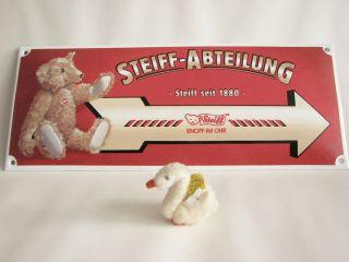 Steiff Woll Gans,  Woolen Goose Nr.  2505,  44 Mit Kf Bild