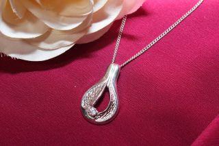 Antik 835 Silber Halskette Ls Anhänger 925 Silber Schmuck Mode Zyrkonia Bild