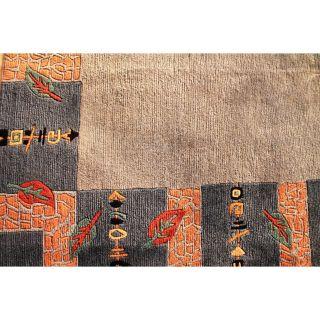 Wunderschöner Handgeknüpft Designer Orientteppich Nepal Tibet Carpet 290x240cm Bild