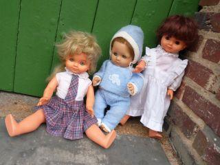 3 Stck.  Z - Zapf - Puppen. Bild