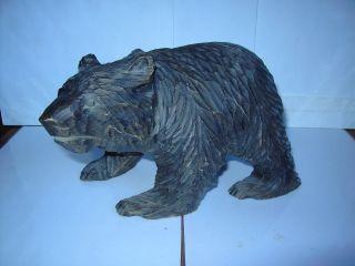 Handgeschnitzter Bär,  Schwarzwald,  Wohl Um 1900 Bild