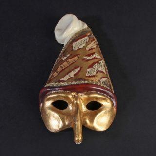 Maske Mask Venedig Venice Karneval Carnival Gold Rot Golden Red Souvenir Bild