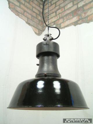 Aeg Fabriklampe Industrielampe Emaillelampe Industriedesign Kandem Bild
