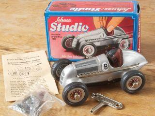 Schuco Studio 1050 Mercedes Grand Prix 1936 Blechspielzeug 80er Jahre Bild