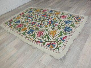Kaschmir Handmade Namdha Teppich Ca.  120 X 185 Cm Bild