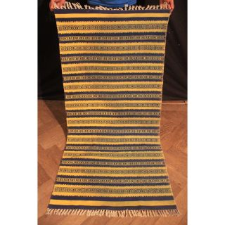 Wunderschöner Handgeknüpfter Orient Teppich Kilim Kelim Gabbeh Carpet 140x70cm Bild
