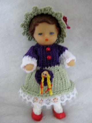 Puppenstube - Puppe - Ari - Püppchen 8 Cm Groß Bild