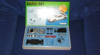 Gama Bmw M1 Montageset Metall Bausatz In Ovp 1/43 Setnummer 8915 RaritÄt Bild