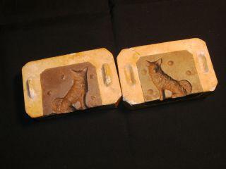 Marzipan - Form Hund / Wolf Antik 13 X 8 X 7cm Bäcker - Model Konditor Schokolade Bild