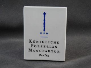 Verkaufsaufsteller Werbeaufsteller Kpm Königliche Porzellanmanufaktur Berlin Bild