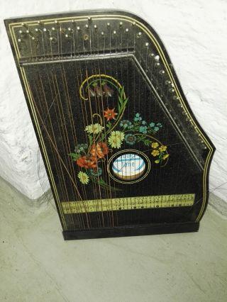 Jubeltöne Konzertzither,  Salon Harfe Zither, Bild