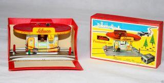 Blechspielzeug Schuco Varianto Tankstelle 3055 Made In Western Germany Bild