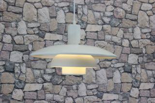 Lampe Deckenlampe HÄngelampe Danish 70er Bild