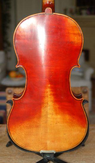 Alte 4/4 Geige - Violine - Zettel : Antonius Stradiuarius Cremonensis - Um 1900 Bild