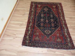 Antik Alter Handgeknüpfter Orient Sammler Teppich Sa Rug Fara Han Carpet Tappeto Bild