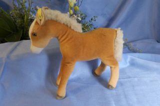 Steiff Pferd,  Trevira Samt,  K,  F/ Steiff Horse,  Velvet,  B,  F Bild