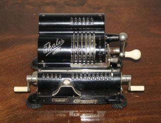 Thales Patent - Mechanische Rechenmaschine Mf 32859 / Thaler Bild