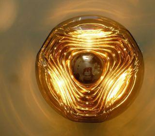 True Vintage Peill & Putzler Wave Wandlampe 70er Lampe Koch & Lowy Space Age Bild