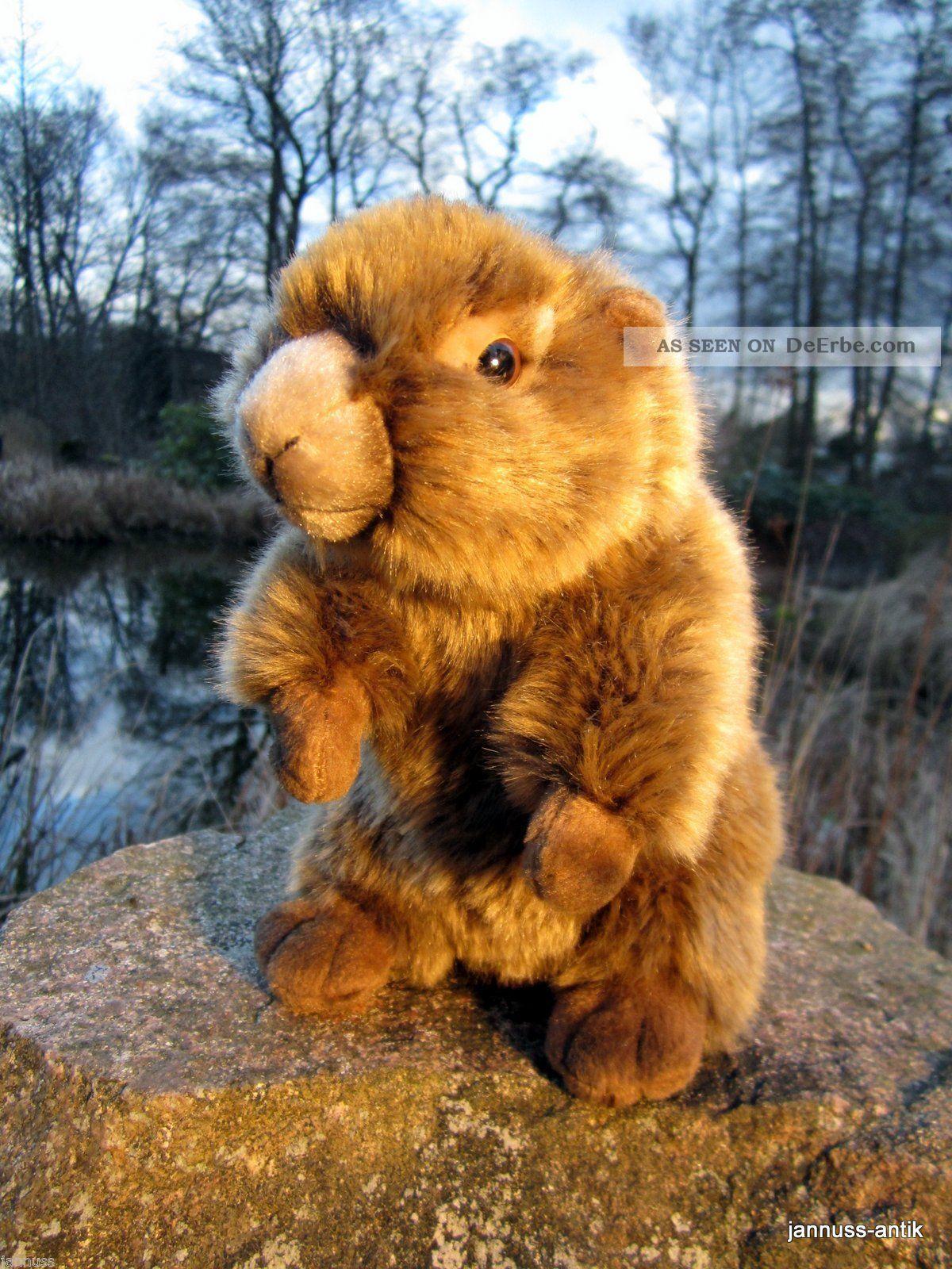 Schönes Plüschtier Stofftier Von Hermann Bieber Stofftiere & Teddybären Bild
