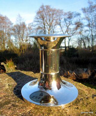 Versilberter Kerzenständer Kerzenhalter Von H.  R.  W.  Fink Edle Dekoration Bild