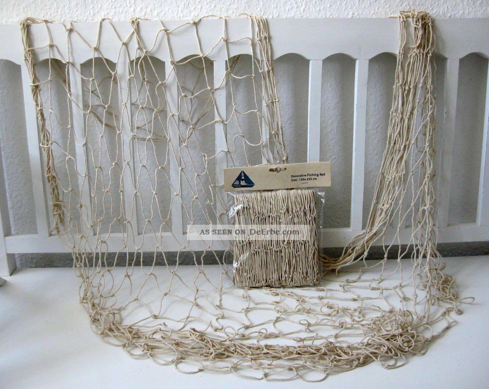 deko fischernetz beige dicke baumwolle 120x250cm dekonetz netz badezimmer. Black Bedroom Furniture Sets. Home Design Ideas