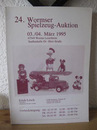 Nr.  24 Wormser Spielzeug Auktionskatalog Lösch Monsheim März 1995 Bild