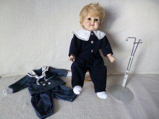 Wernicke Puppe,  Zubehör 42 Cm Hübsche Künstlerpuppe Bild