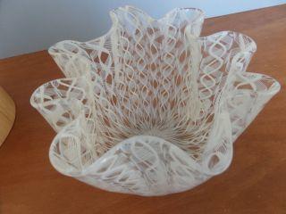 Fazzoletto Taschentuch - Vase Venini Murano Fifties Italia Design H: 13 Cm Bild