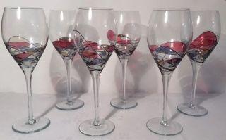 K,  K Styling Tiffany 6 Weingläser - Wie Bild