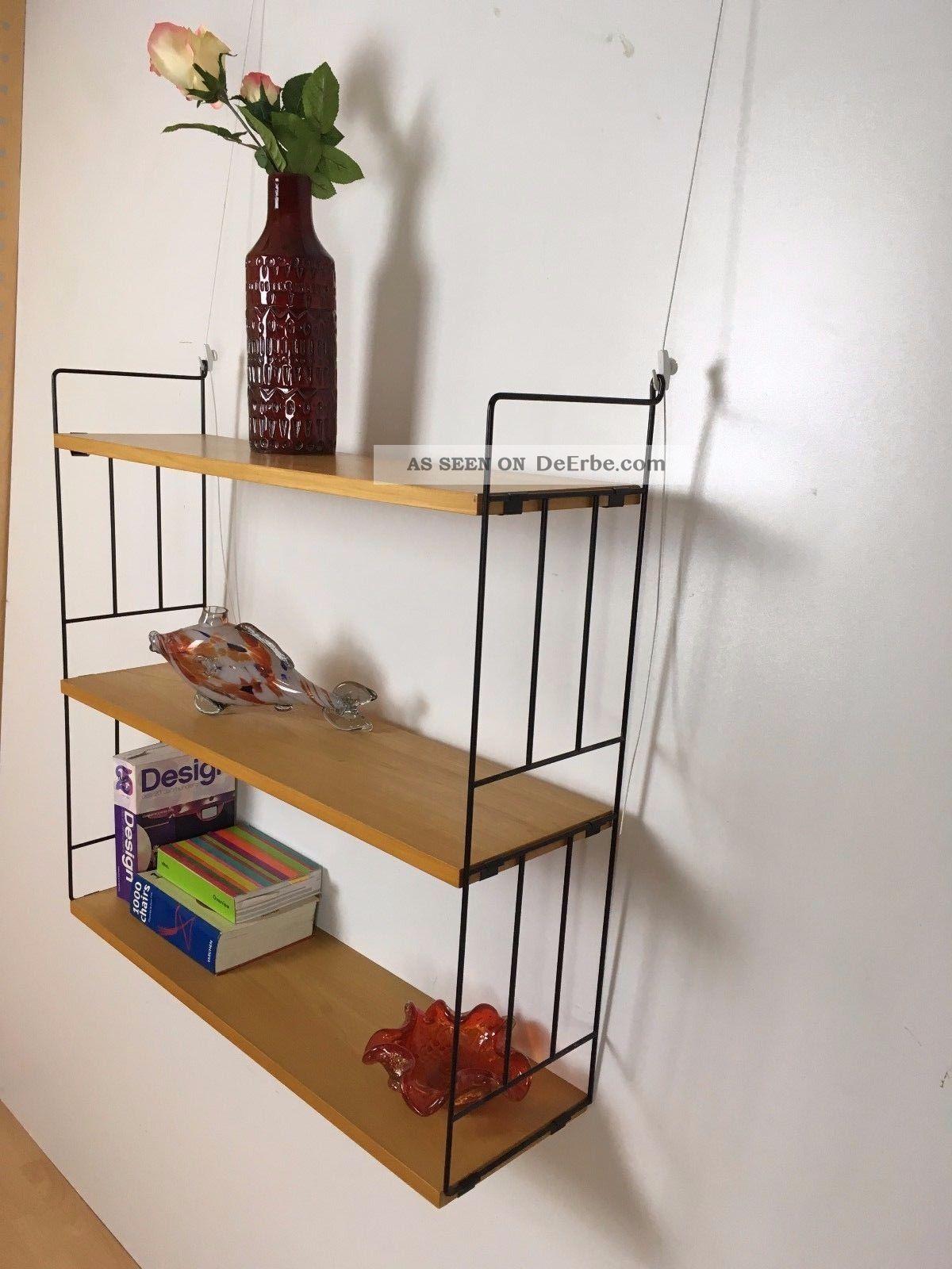 string look regal b cherregal wandregal f016 r ster. Black Bedroom Furniture Sets. Home Design Ideas