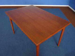 Schöner Teak Esstisch - Dining Table - Denmark - 60er - Originalzustand Bild