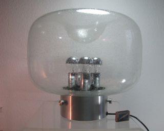 Xxl Tischlampe Limburg Lampe Kugel 70er Desing 39 Cm Hoch Big Ball Bodenlampe (s Bild