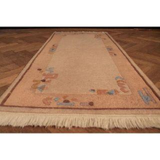 Schöner Handgeknüpfter Orient Teppich Nepal Gabbeh Carpet Tapis Tapijt 145x70cm Bild