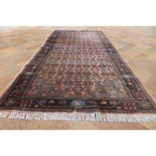 Alter Handgeknüpfter Orient Teppich Malaya Kurde Old Rug Carpet Tappeto 180x90cm Bild