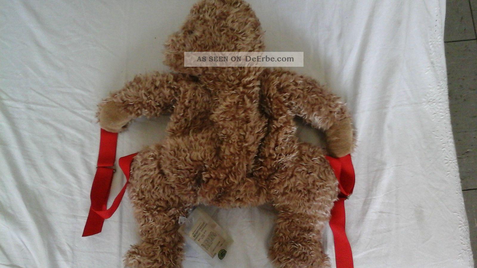 Merrythought Teddytasche Braun 60 Cm Länge Limitiert Rucksack Stofftiere & Teddybären Bild