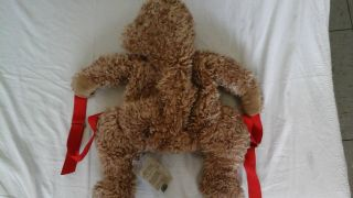 Merrythought Teddytasche Braun 60 Cm Länge Limitiert Rucksack Bild