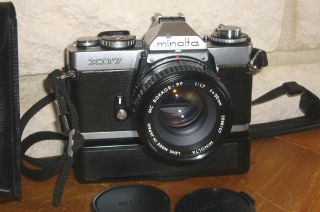 Minolta Xd7,  Mc Rokkor - Pf 1,  7/50mm,  Auto Winder D Bild