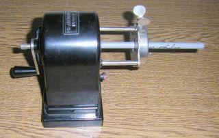 Bleistiftanspitzer/ Spitzmaschine Bakelit A.  W.  Faber 52/12 Bild