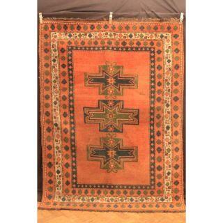 Antik Handgeknüpft Orient Teppich Shi Raz Gabbeh Kazak Old Rug Carpet 240x170cm Bild