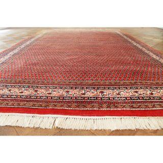 Schöner Handgeknüpfter Orient Teppich Kaschmir Saruqh Mir Rug Carpet 300x200cm Bild