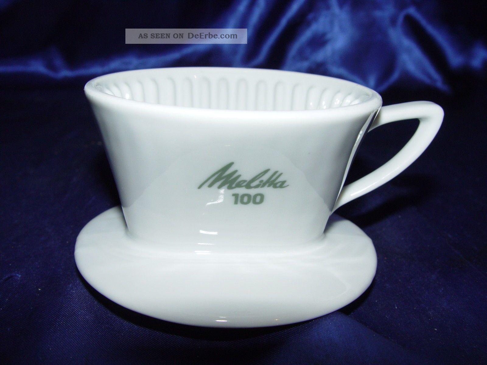 vintage alter melitta porzellan 100 kaffeefilter 2 loch. Black Bedroom Furniture Sets. Home Design Ideas