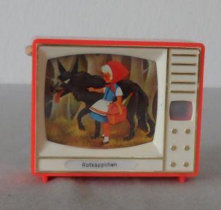 Altes Klick - Fernsehn,  Plastiskop,  Märchen Rotkäppchen Bild