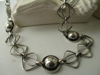 Silber Kette 825 - Art Deco - Glieder Kette 38 Gr Um 1920 - 30 Collana Anni 30 Bild